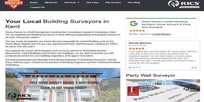 party wall surveying